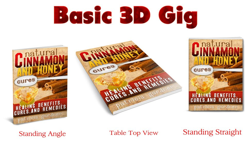 3D Book Covers