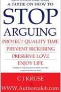 STOP ARGUING: How To Stop Arguing