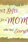 Having problems finding a perfect gift for a MOM who has everything? Check out these great finds which are sure to delight your mom on Mother's Day.