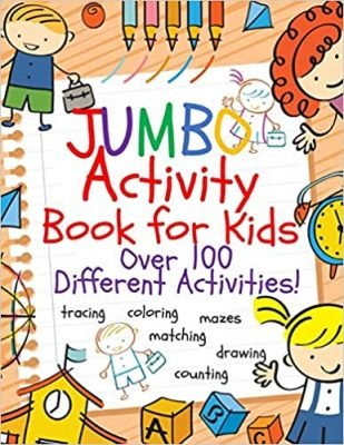 Jumbo Activity Book for Kids