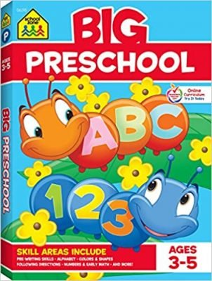School Zone - Big Preschool Workbook