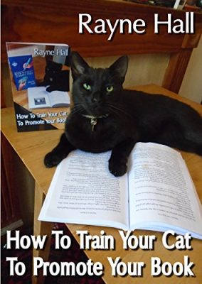 How To Train Your Cat To Promote Your Book