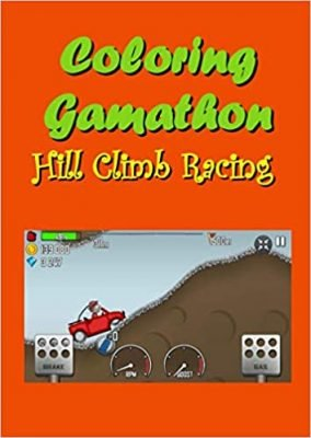 Hill Climb Racing Coloring Book
