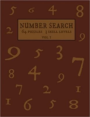 Number Search 64 Puzzles 3 Skill Levels